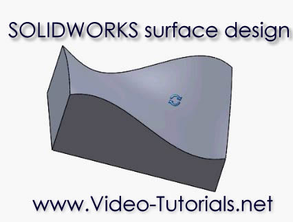 SOLIDWORKS surface design and modeling tutorials by Video-Tutorials.net