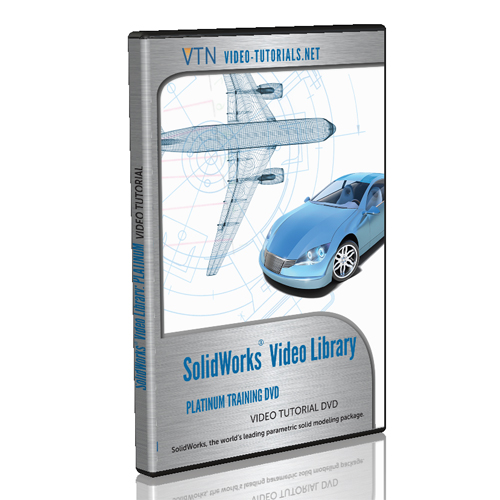 SOLIDWORKS Platinum Training bundle by Video-Tutorials.Net