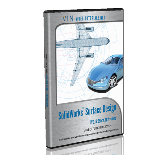 SolidWorks Video Tutorial Surface Design Modeling