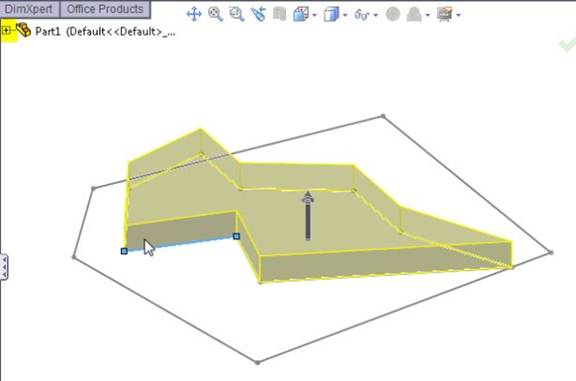 SolidWorks Tutorials for Beginners: First Sketch, Part 2: How to select a sketch for your extrude