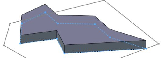 Solidworks tutorials for beginners (first sketch, part 2): mouse over a hidden sketch to see its preview in dashed line.