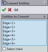 Solidworks tutorials - convert the slots