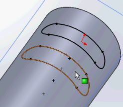 Solidworks tutorials - here is our 3D sketch