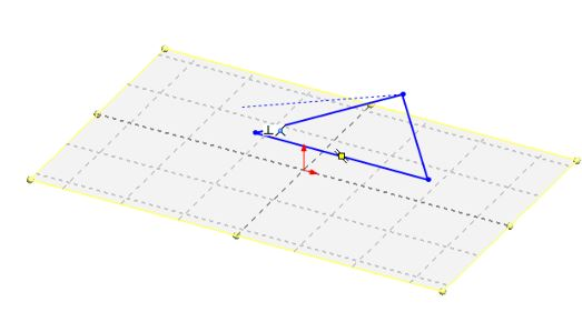 SolidWorks tutorials surface design for beginners - the first triangle