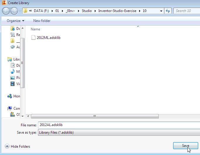 AutoDesk Inventor Tutorials (Inventor Studio)