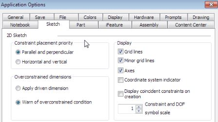 AutoDesk Inventor Tutorials - The Grid