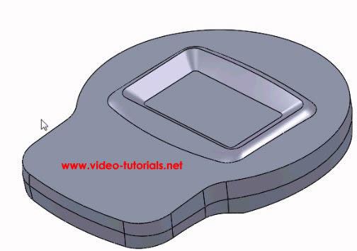 SOLIDWORKS basic surface design first fillet