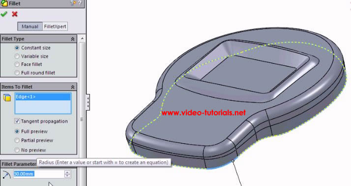 SOLIDWORKS basic surface design - uh oh, no preview!