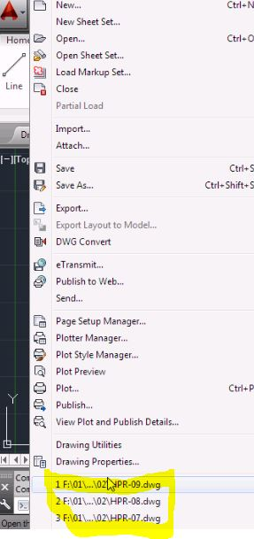 AutoCAD Basic Tutorials - how to wield the administrative potential of the application menu!