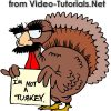 Happy Thanksgiving from Video-Tutorials.Net. Enter blackfriday at checkout to save 25% on all courses.