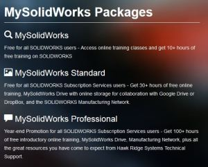 My-SolidWorks free for a year!