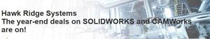 Great deals on SOLIDWORKS software through the end of the year!