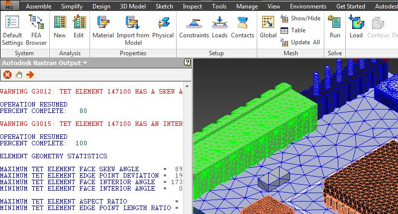 More about Nastran-in-CAD - Output