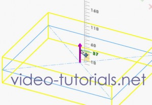 Fig1 - start with a rectangle | SOLIDWORKS cut features from open profiles