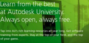 Autodesk Online University free training