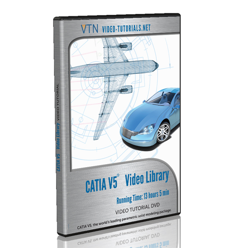 CATIA Video Tutorials and CATIA Tutorials by Video-Tutorials Net
